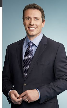 Chris Cuomo - he is so good looking, even in person. Piercing blue eyes, shiver-worthy smile and amazingly cut body. He came into where I work, pretended to fall on my newly mopped floor and I of course acted like an idiot because I was starstruck. But it doesn't matter because he was such a nice guy...