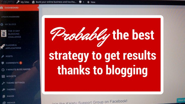 There are many examples of people who achieved great results in online business thanks to #blogging and if you're reading this then you probably:  – think about #blogging – already have a #blog  Regardless of your situation there's something that can help you get results:   http://brandonline.michaelkidzinski.ws/probably-the-best-strategy-to-get-results-thanks-to-blogging/