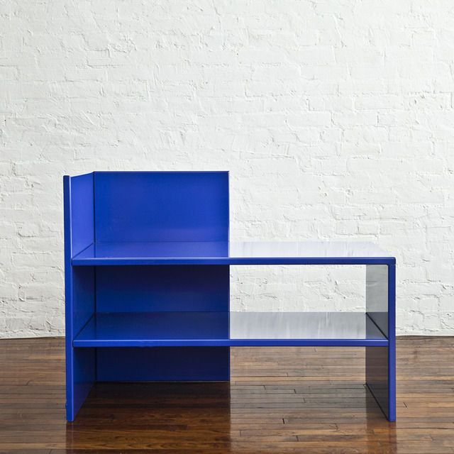Corner Bench #53, 1990, by Donald Judd