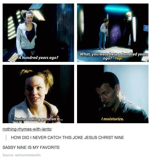 How did anyone even miss perhaps one of Doctor Who's finest moments? I adore this part so much.
