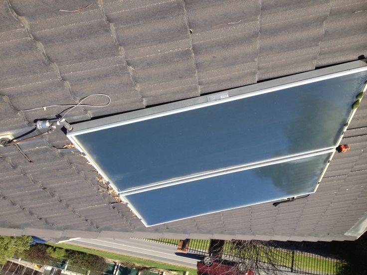 Solar Hot Water Installation