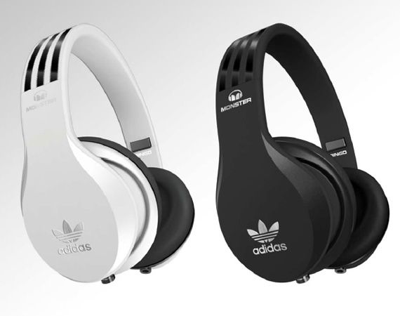 Adidas Original Monster Headphones Collection / No idea if they're any good but they are damn sexy.