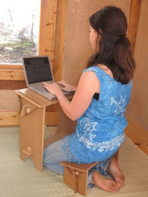 Sitting kills. Alternative desk/workspace arrangements: love my standing desk, but this might be a nice alternative too...