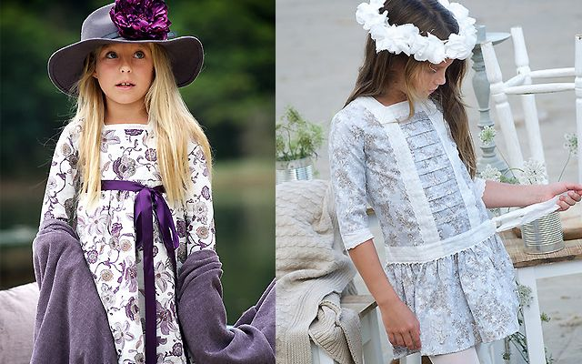 Vestidos de fiesta para niñas de teresa & leticia – Moda infantil – Compras – C…