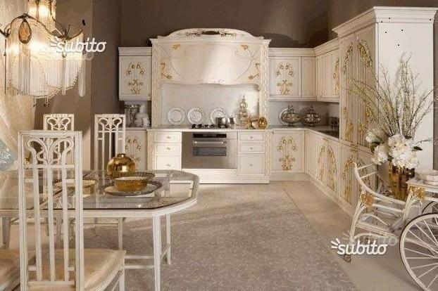cucina-barocco | Colore e arredo casa | Arredamento ...