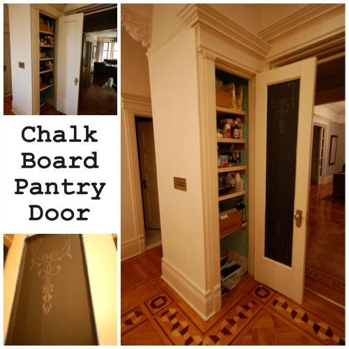 Best 25+ Chalkboard pantry doors ideas on Pinterest