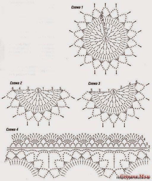 8 best узоры images on Pinterest | Crochet clothes, Crochet stitches ...