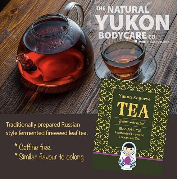 Russian Herbal Tea / Fireweed Leaf / Yukon Canada Willow Herb