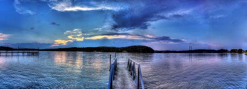 Watts Bar Lake at Sunset, Kingston, TN