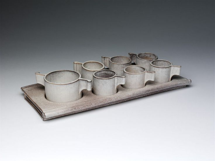 Coffee set, Alessio Tasca, 1980
