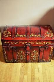 Image result for pirates treasure chest jewelry box painted