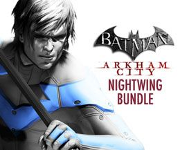 Batman: Arkham City Nightwing-PS3[Digital Download Add-On]