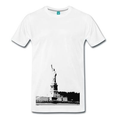 Here one of the most famous lady statues, stands alone holding a torch. Lets wear the statue of Liberty with pride.