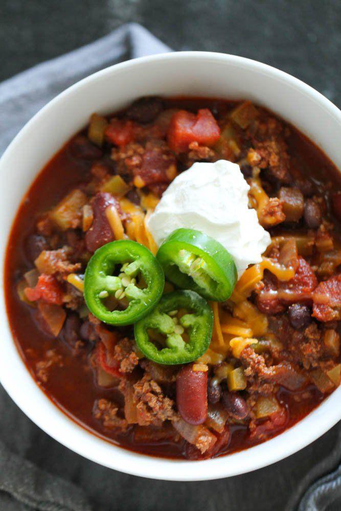 The Best Homemade Chili Recipe Recipe Homemade Chili Recipe Chili Recipes Chilli Recipes