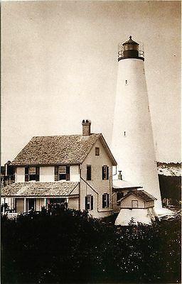 Georgetown #Lighthouse - Collectible Vintage Postcard - Georgetown, #SC Georgetown lighthouse with history on back. Unused Leib Image Archives 1980s vintage chrome - http://dennisharper.lnf.com/