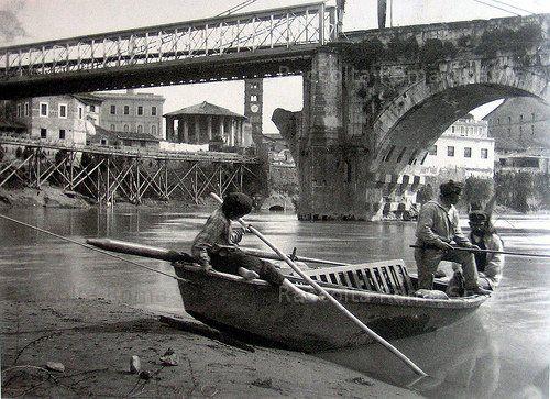 Roma Sparita - Ponte Rotto 1880
