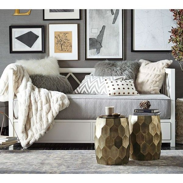 Pottery Barn Clara Lattice Daybed 1 299 Liked On