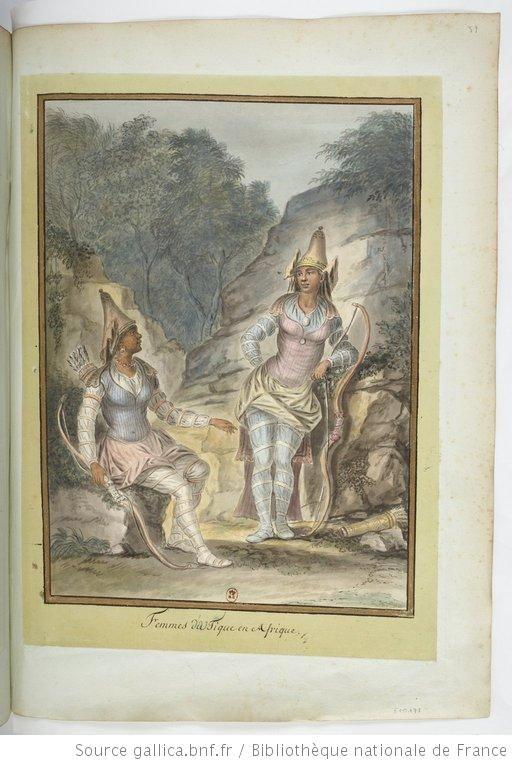 Femmes du Tique [d'Utique] en Afrique : [dessin] / [François-Marie Rosset] - 1
