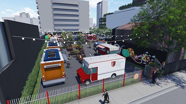 Food trucks irão vender comes e bebes em espaço no Butantã, em SP