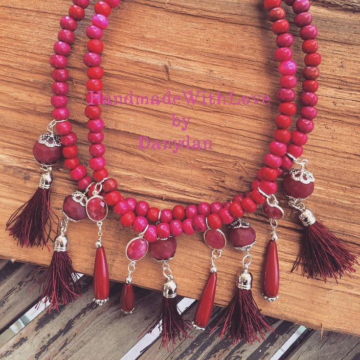 danydan67Tribal Queen Necklace #danydan #handmadewithlove #danydan67 #handmadejewelry #handmadenecklace #tassel #tribal #queen #necklace #bohostyle #bohojewelry