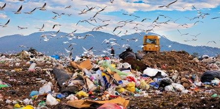 Landfills have a huge greenhouse gas problem. Here