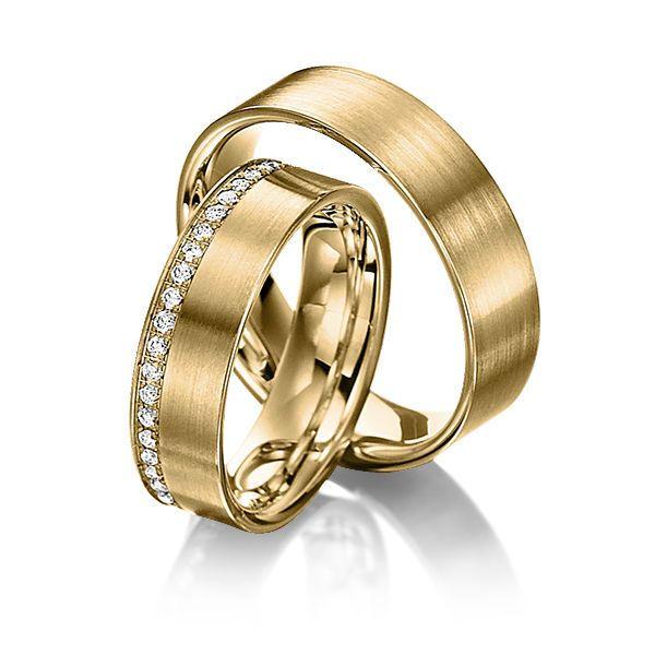 Купить Обручальные кольца Fashion 17-004 - золотой, обручальные кольца, обручальное кольцо