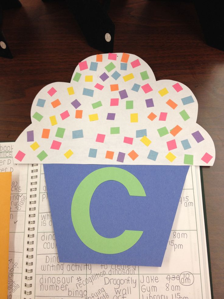 C for cupcake craft