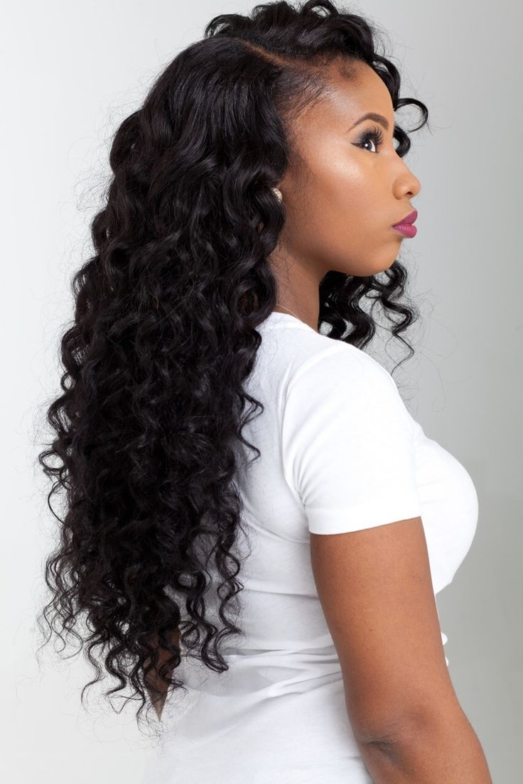Pictures Of Hairstyles Doing Deep Waves 1000 Ideas About