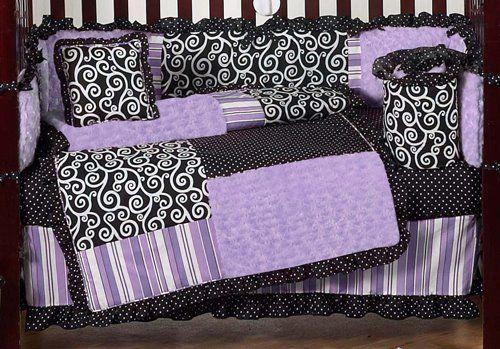 baby girl crib bedding sets  | Beyond Bedding Girls Boutique Crib Bedding Set by JoJo Designs ...