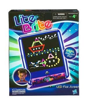Lite Brite A classic that'll never go out of style. Let your little Picasso create designs with the multicolored pegs. When the backlight is...