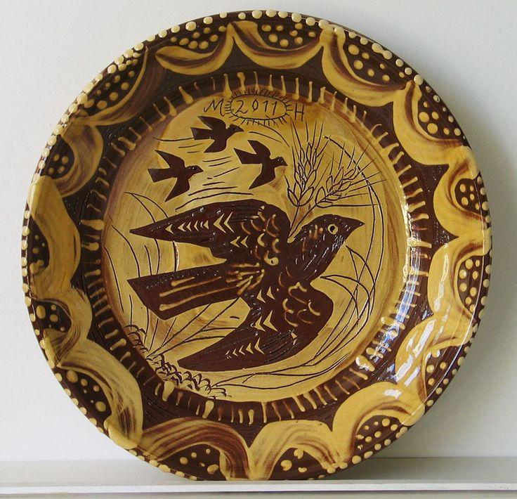 Mark Hearld - Birds & Barley, slipware