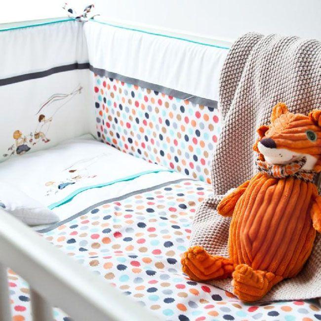 Ochraniacz na łóżeczko Color Stories