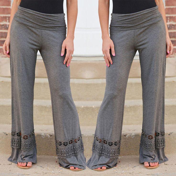 Pantalones pantalones pantalones de danza cuadrados de Fitness Yoga ejecutan pantalones anchos de la pierna pantalones de deporte sudor de la gota en Pantalones de yoga de Deportes y Tiempo Libre en AliExpress.com | Alibaba Group
