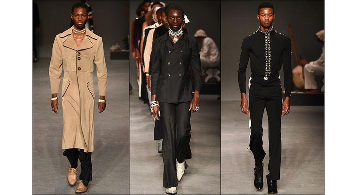 Une mode masculine inédite, poétique, ultra visuelle, qui explore la masculinité noire et l'Afrique, entre Malick Sidibé et l'Afrique contemporaine. C'est le crédo de la maison Wales Bonner, encensée par les critiques dès sa première collection il y a trois saisons. Vogue Hommes l'a rencontrée.