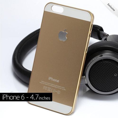 "amzn.to/YxWAYn , ≥ iPhone 6 4.7"" Gold Aluminium Case - Limited Edition! OP=OP! - Mobiele telefoons | Hoesjes en Frontjes | Apple iPhone - Marktplaats.nl #aluminium case"
