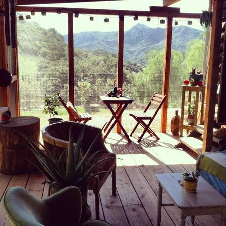 Tiny Home In Topanga Canyon. I'll take this tiny home over a Mcmansion any day.