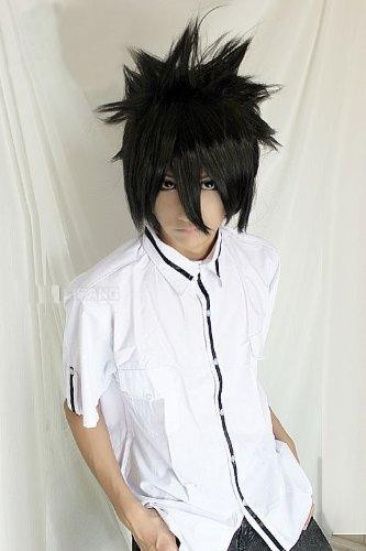 Death Note Naruto Uchiha Sasuke Costume Short Black Cosplay Wig  Best item ever seen, with very good price! Recommend!