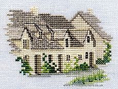 Buildings - Arlington Row - Minuets - Cross Stitch Kit from Derwentwater Designs