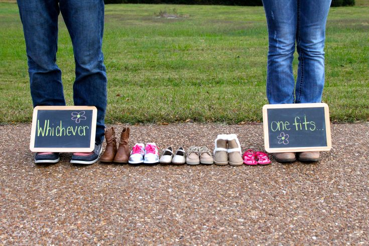 Adoption Announcement- This couple is adopting a little girl and had a fun photo shoot to announce it!