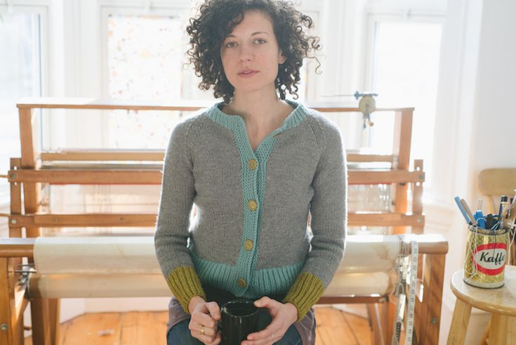 Louise Cardigan by Carrie Bostick Hoge for Madder