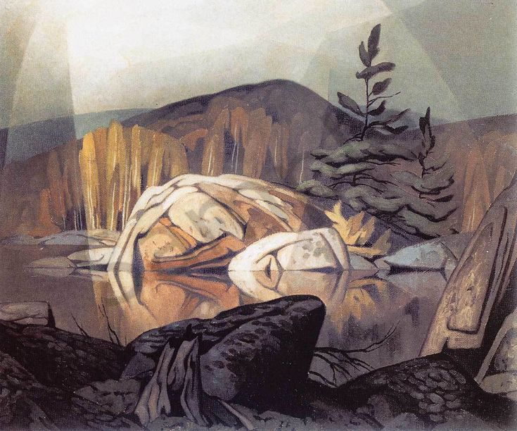 A. J. Casson Autumn Georgian Bay