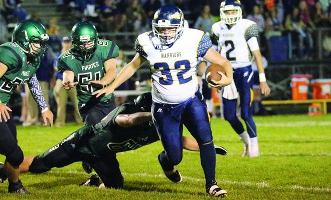 Football scores from area teams