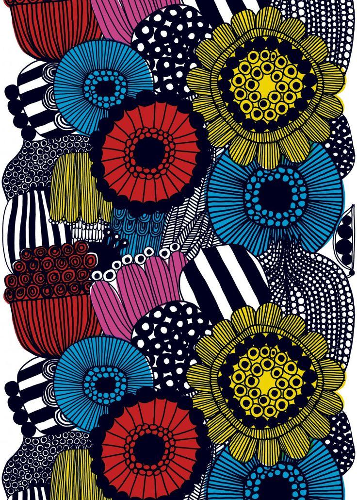 Siirtolapuutarha coated fabric | Coated Fabrics | Marimekko