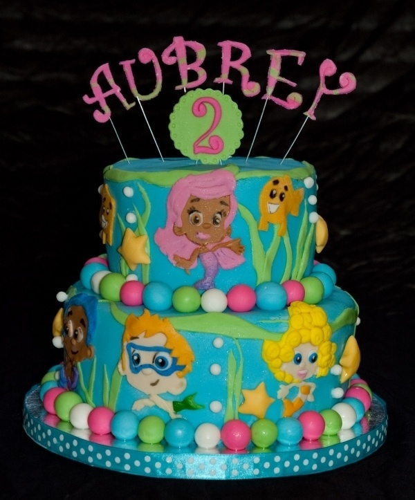My Baby Girl Loves Bubble Guppies! Idea For 2nd Birthday