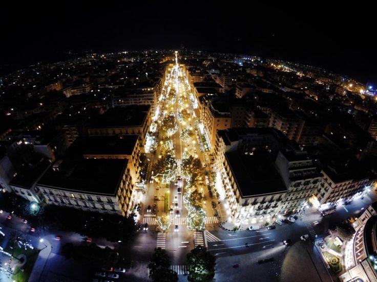 Drone view - Via Libertà - #palermo
