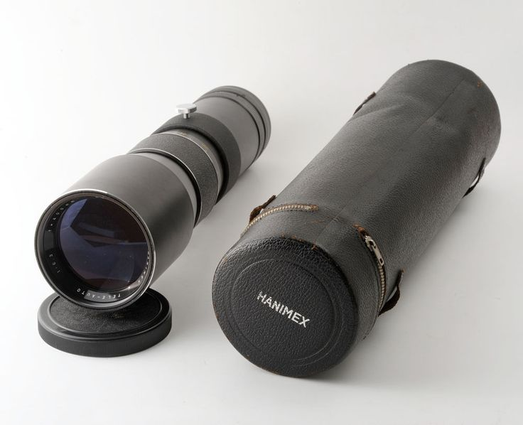 Hanimex 400mm f6.3 Tele-Auto Lens M42 Mount with Caps and Case in Cameras & Photography, Lenses & Filters, Lenses | eBay!