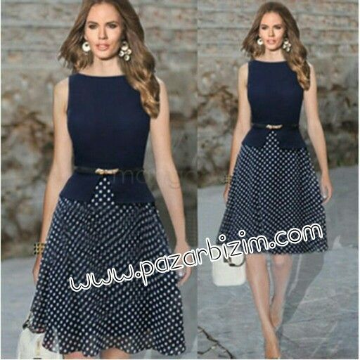 Vintage Celeb Kuşaklı Elbise 65 TL  Ürün detayları için sitemizi ziyaret ediniz.  #BayanGiyim #Elbise #UygunFiyat  www.pazarbizim.com