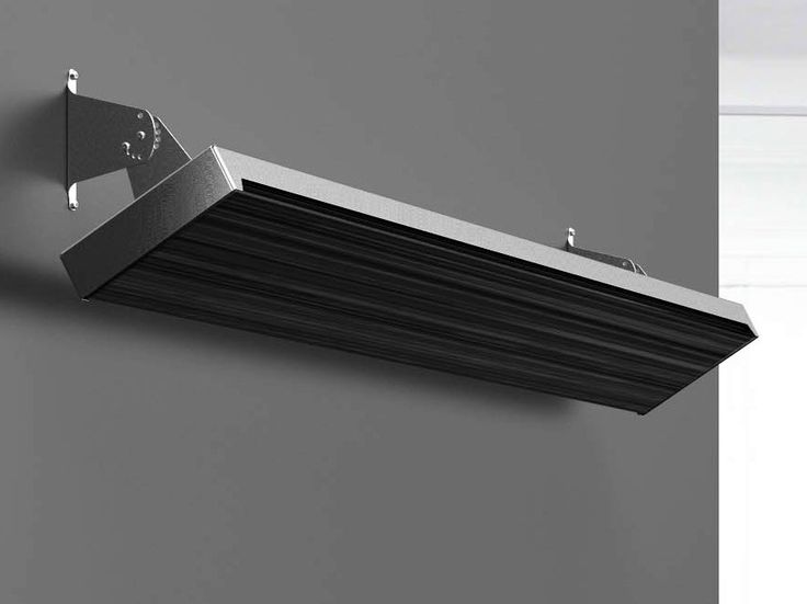 Heat lamps for outside patio  Infrared outdoor heater BLACKLIGHT Blacklight Collection by Mo-el