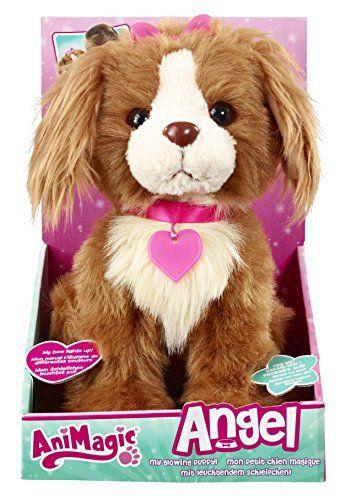 Animagic-311514300-Elektronische-Haustier-Hndchen-Angel-mit-leuchtendem-Schleifchen