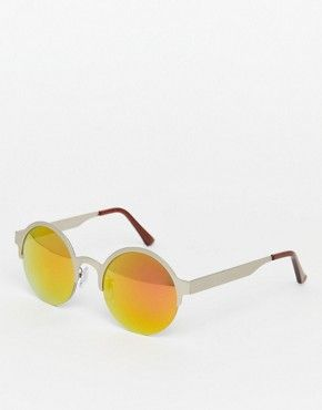 Металлические зеркальные солнцезащитные очки Jeepers Peepers